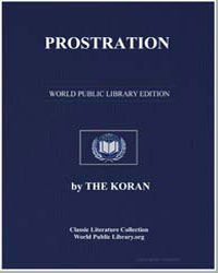 The Noble Koran (Quran) : Prostration by Transcribed  the Prophet Muhammad