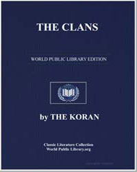 The Noble Koran (Quran) : The Clans by Transcribed  the Prophet Muhammad