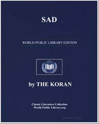 The Noble Koran (Quran) : Sad by Transcribed  the Prophet Muhammad