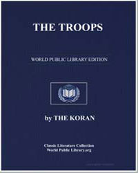 The Noble Koran (Quran) : The Troops by Transcribed  the Prophet Muhammad