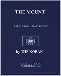 The Noble Koran (Quran) : The Mount by Transcribed  the Prophet Muhammad