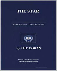 The Noble Koran (Quran) : The Star by Transcribed  the Prophet Muhammad