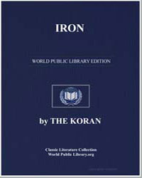 The Noble Koran (Quran) : Iron by Transcribed  the Prophet Muhammad
