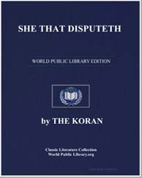 The Noble Koran (Quran) : She That Dispu... by Transcribed  the Prophet Muhammad