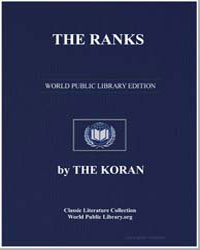 The Noble Koran (Quran) : The Ranks by Transcribed  the Prophet Muhammad