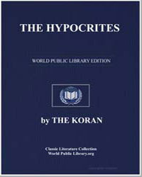 The Noble Koran (Quran) : The Hypocrites by Transcribed  the Prophet Muhammad