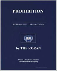 The Noble Koran (Quran) : Prohibition by Transcribed  the Prophet Muhammad