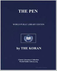 The Noble Koran (Quran) : The Pen by Transcribed  the Prophet Muhammad