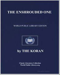 The Noble Koran (Quran) : The Enshrouded... by Transcribed  the Prophet Muhammad