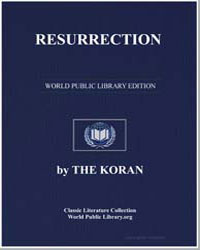 The Noble Koran (Quran) : Resurrection by Transcribed  the Prophet Muhammad