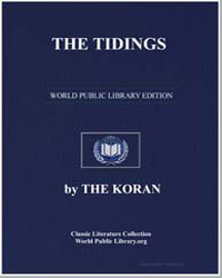 The Noble Koran (Quran) : The Tidings by Transcribed  the Prophet Muhammad