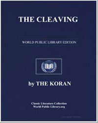 The Noble Koran (Quran) : The Cleaving by Transcribed  the Prophet Muhammad