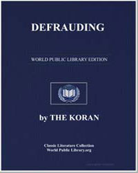 The Noble Koran (Quran) : Defrauding by Transcribed  the Prophet Muhammad