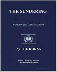 The Noble Koran (Quran) : The Sundering by Transcribed  the Prophet Muhammad