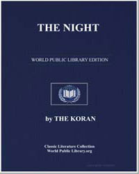 The Noble Koran (Quran) : The Night by Transcribed  the Prophet Muhammad