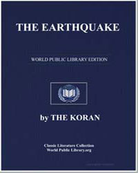 The Noble Koran (Quran) : The Earthquake by Transcribed  the Prophet Muhammad