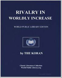 The Noble Koran (Quran) : Rivalry in Wor... by Transcribed  the Prophet Muhammad