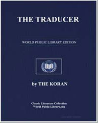 The Noble Koran (Quran) : The Traducer by Transcribed  the Prophet Muhammad