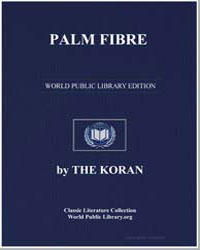 The Noble Koran (Quran) : Palm Fibre by Transcribed  the Prophet Muhammad