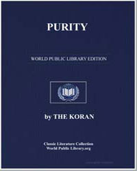 The Noble Koran (Quran) : Purity by Transcribed  the Prophet Muhammad