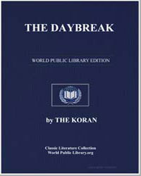 The Noble Koran (Quran) : The Daybreak by Transcribed  the Prophet Muhammad