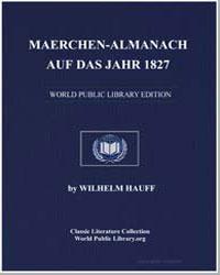 Maerchenalmanach auf das Jahr 1827 by Hauff, Wilhelm
