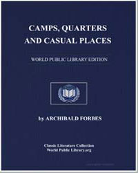Camps, Quarters and Casual Places by Forbes, Archibald