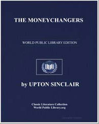 The Moneychangers by Sinclair, Upton