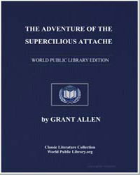 The Adventure of the Supercilious Attach... by Allen, Grant