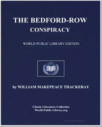 The Bedfordrow Conspiracy by Thackeray, William Makepeace