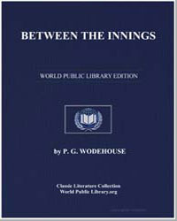 Between the Innings by Wodehouse, Pelham Grenville