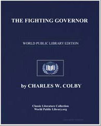 The Fighting Governor by Col, Charles W.