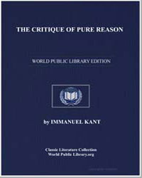 Kant, Immanuel