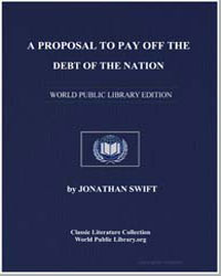 A Proposal to Pay Off the Debt of the Na... by Swift, Jonathan