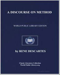 A Discourse on Method by Descartes, René