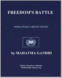 Freedom's Battle by Gandhi, Mahatma