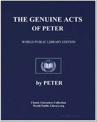 The Genuine Acts of Peter by
