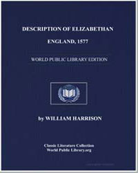 Description of Elizabethan England, 1577 by Harrison, William