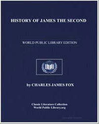 History of James the Second by Fox, Charles James