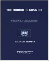 The Mirror of Kong Ho by Bramah, Ernest