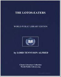 The Lotoseaters by Tennyson, Alfred, 1St Baron Tennyson, Lord