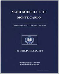 Mademoiselle of Monte Carlo by Le Queux, William