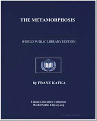 The Metamorphosis by Kafka, Franz