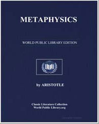 Metaphysics by Aristotle