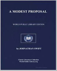 A Modest Proposal by Swift, Jonathan
