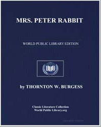 Mrs. Peter Rabbit by Burgess, Thornton Waldo
