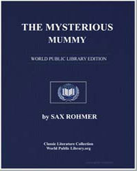 The Mysterious Mummy by Rohmer, Sax