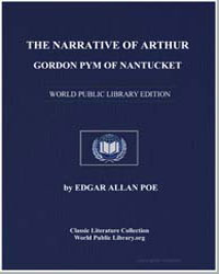 The Narrative of Arthur Gordon Pym of Na... by Poe, Edgar Allan