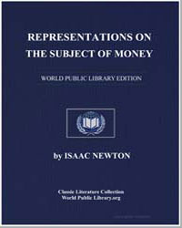 Representations on the Subject of Money by Newton, Isaac, Sir