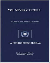 You Never Can Tell by Shaw, George Bernard